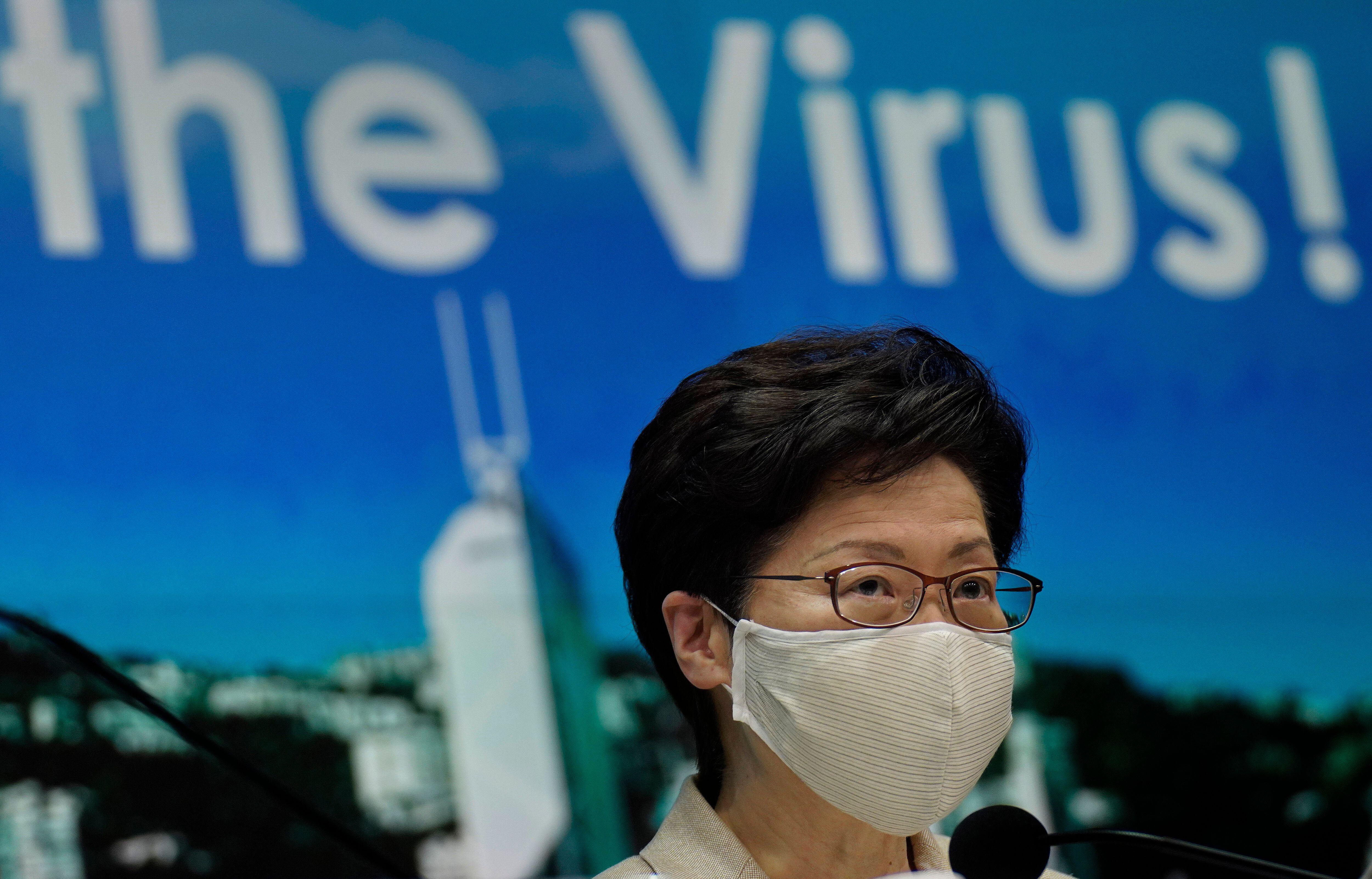 A Hong Kong, Carrie Lam s'inquiète d'une situation