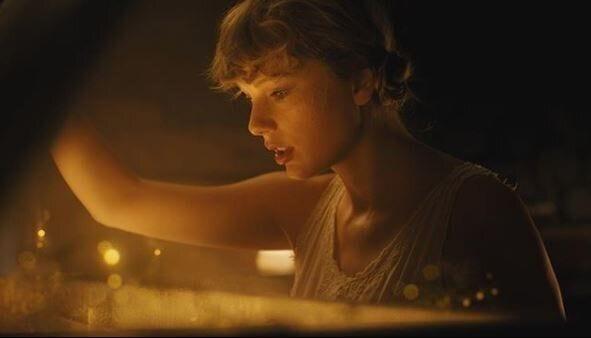 Taylor Swift dans le clip