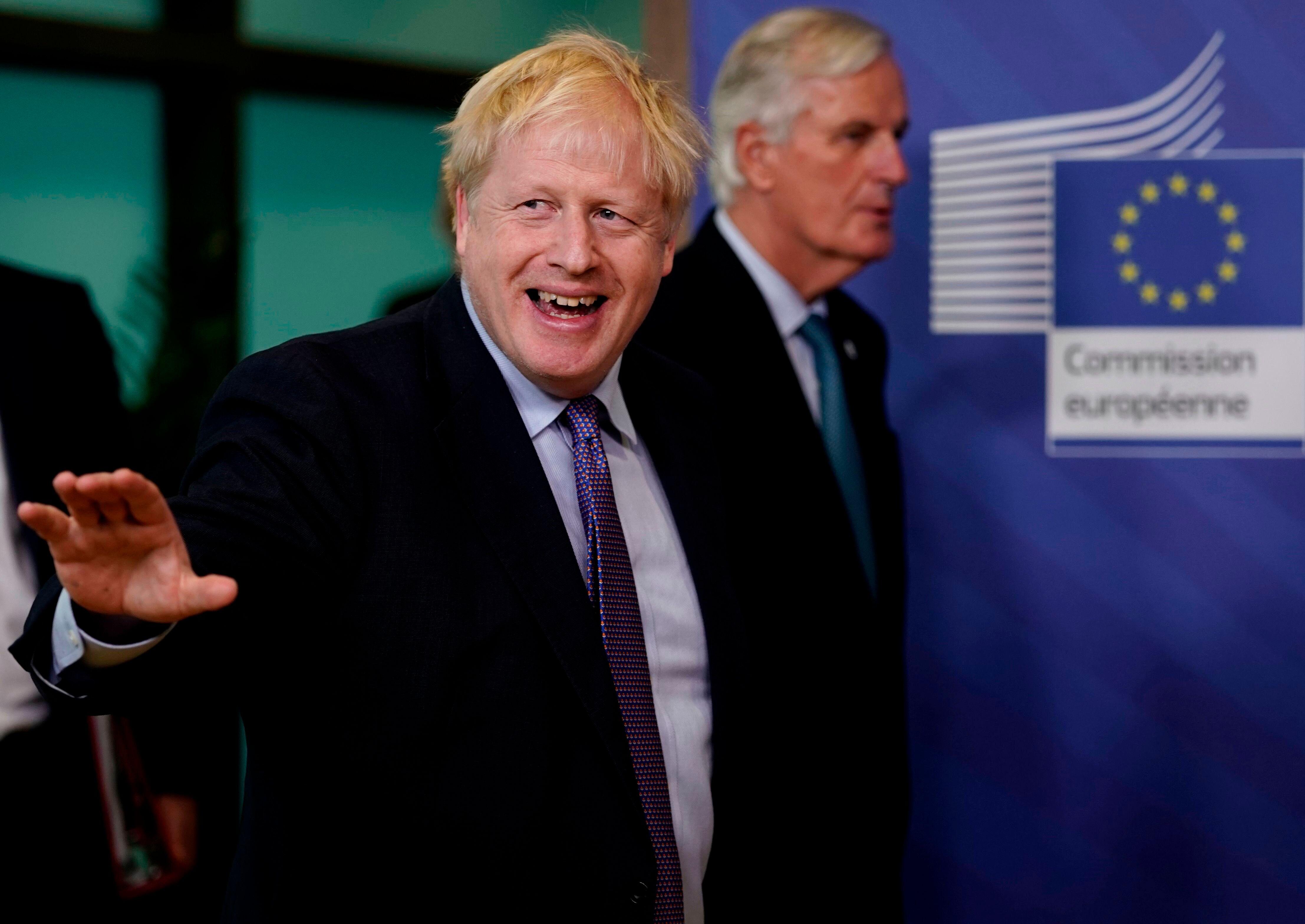 Boris Johnson et Michel