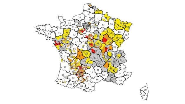 Les Vosges et une partie de la Meuse sont actuellement soumises à des restrictions d'eau, la faute à...