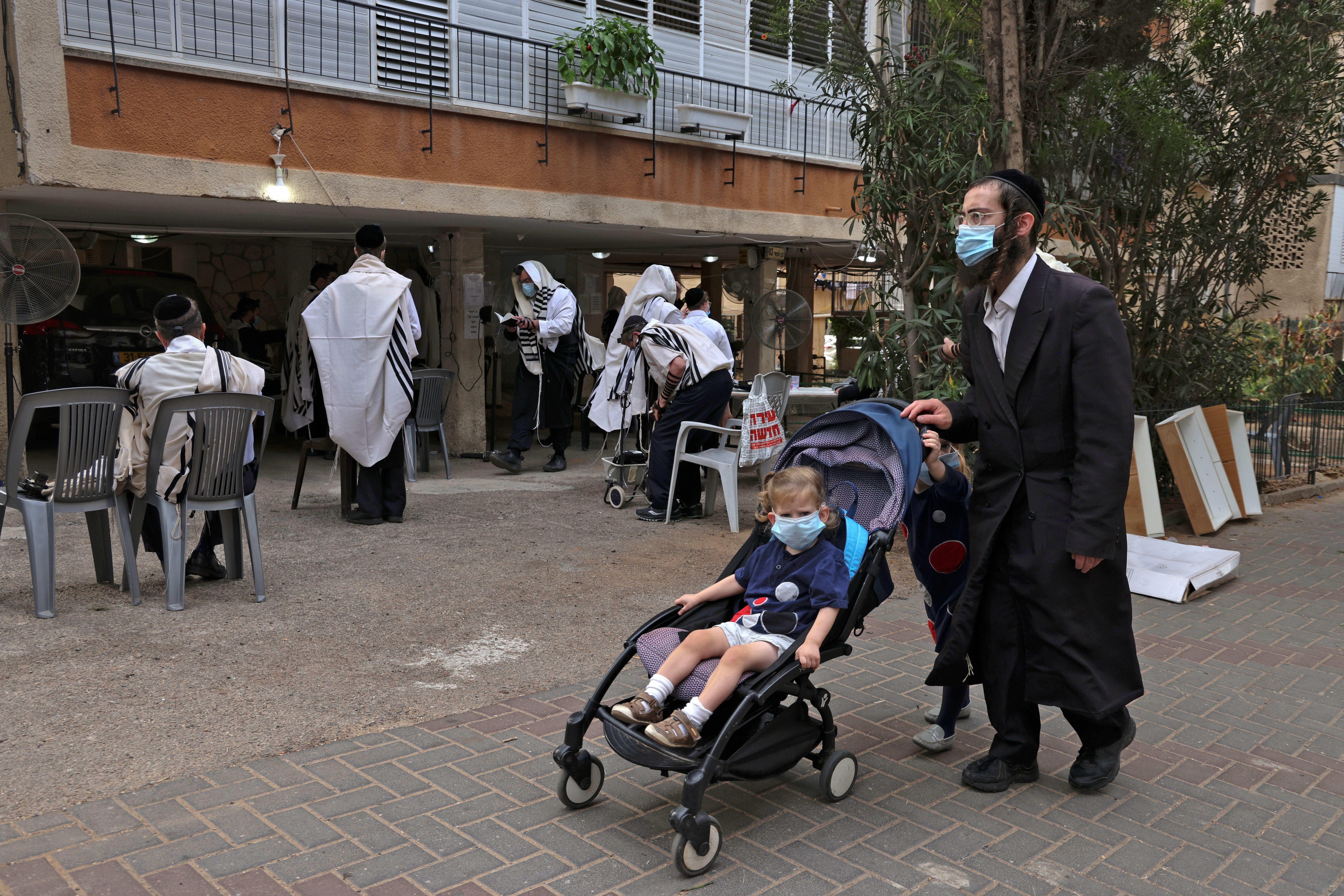 Dans la ville de Bnei Brak, près de Tel Aviv en Israël, le 7 septembre