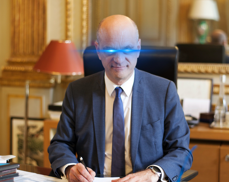 Jean-Michel Blanquer - The Meme Maker - CC