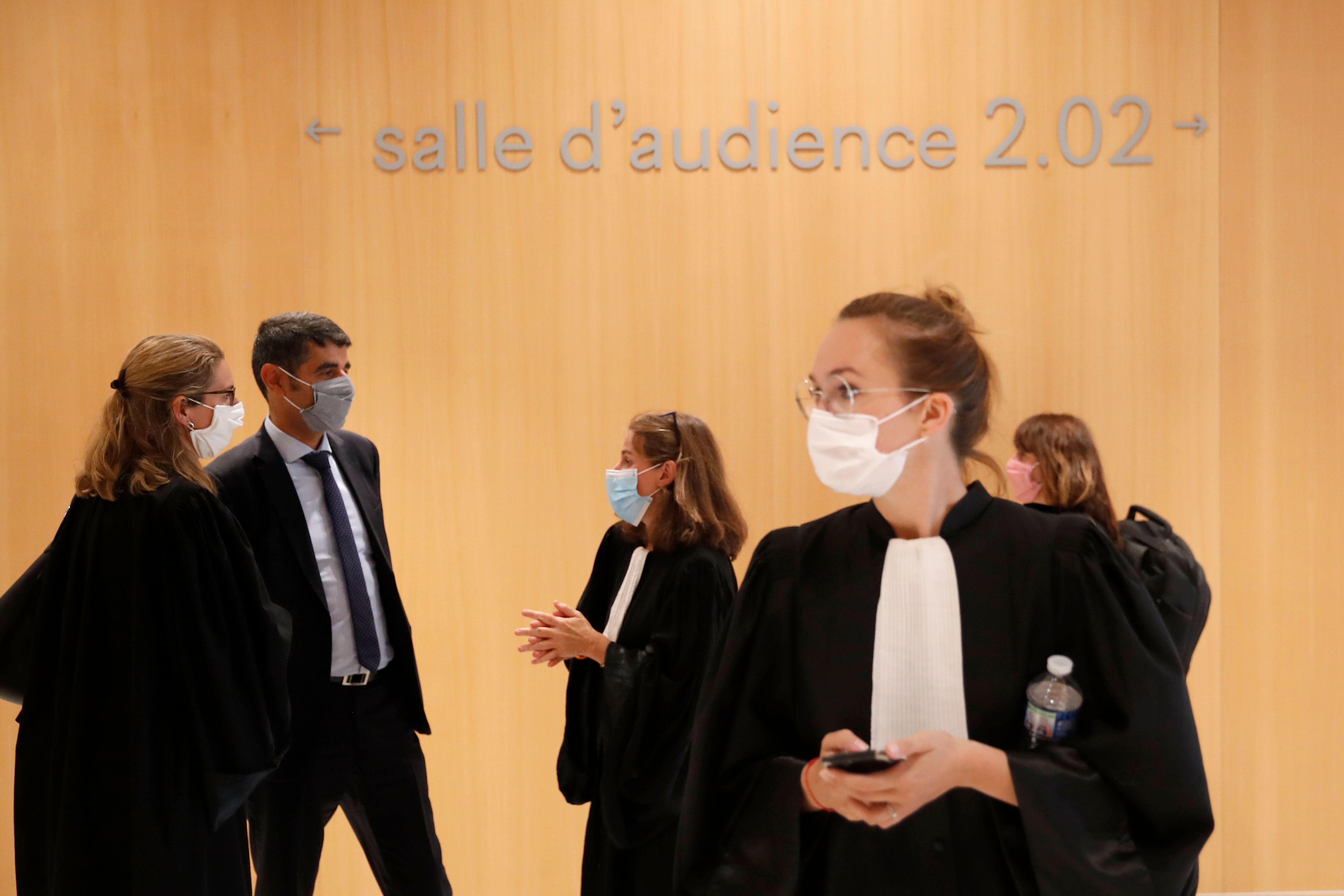 Le tribunal de Paris visé par une attaque informatique massive (photo d'illustration prise le...