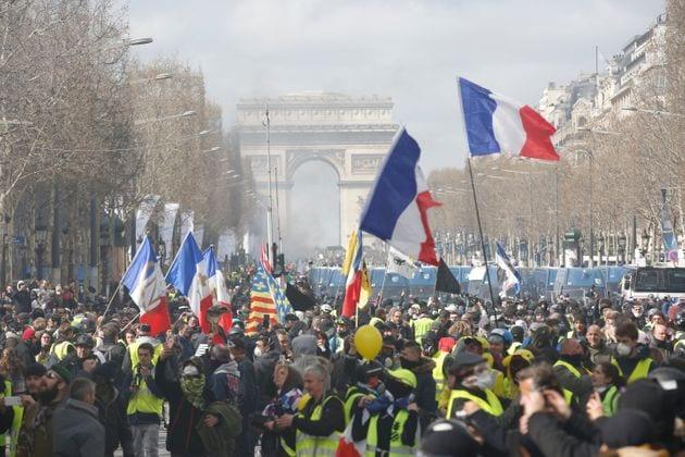 Les manifestations de gilets jaunes interdites samedi dans ces secteurs de Paris (photo d'illustration...