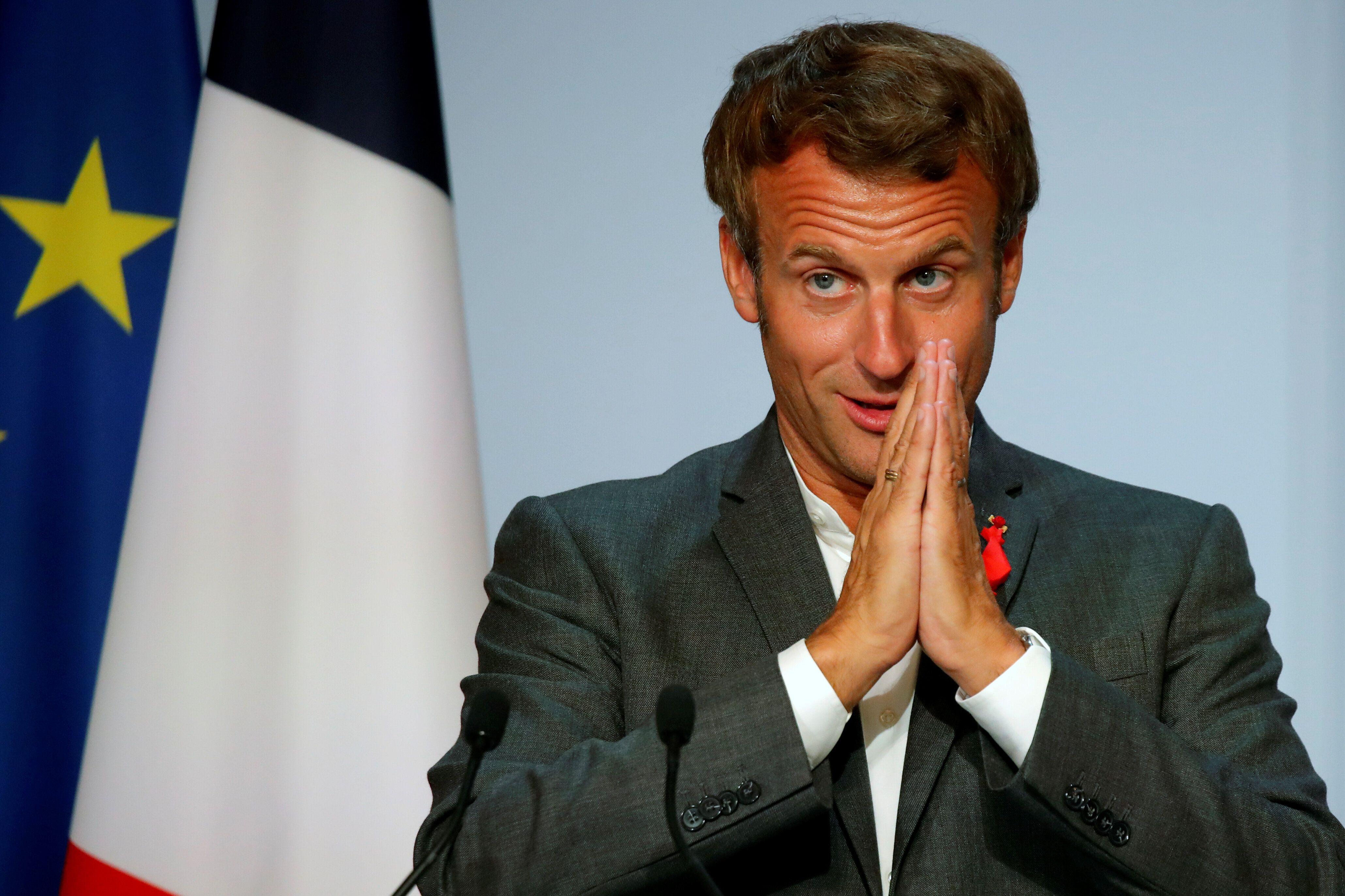 Emmanuel Macron a défendu ce 14 septembre la 5G, quelques jours après une tribune de la...