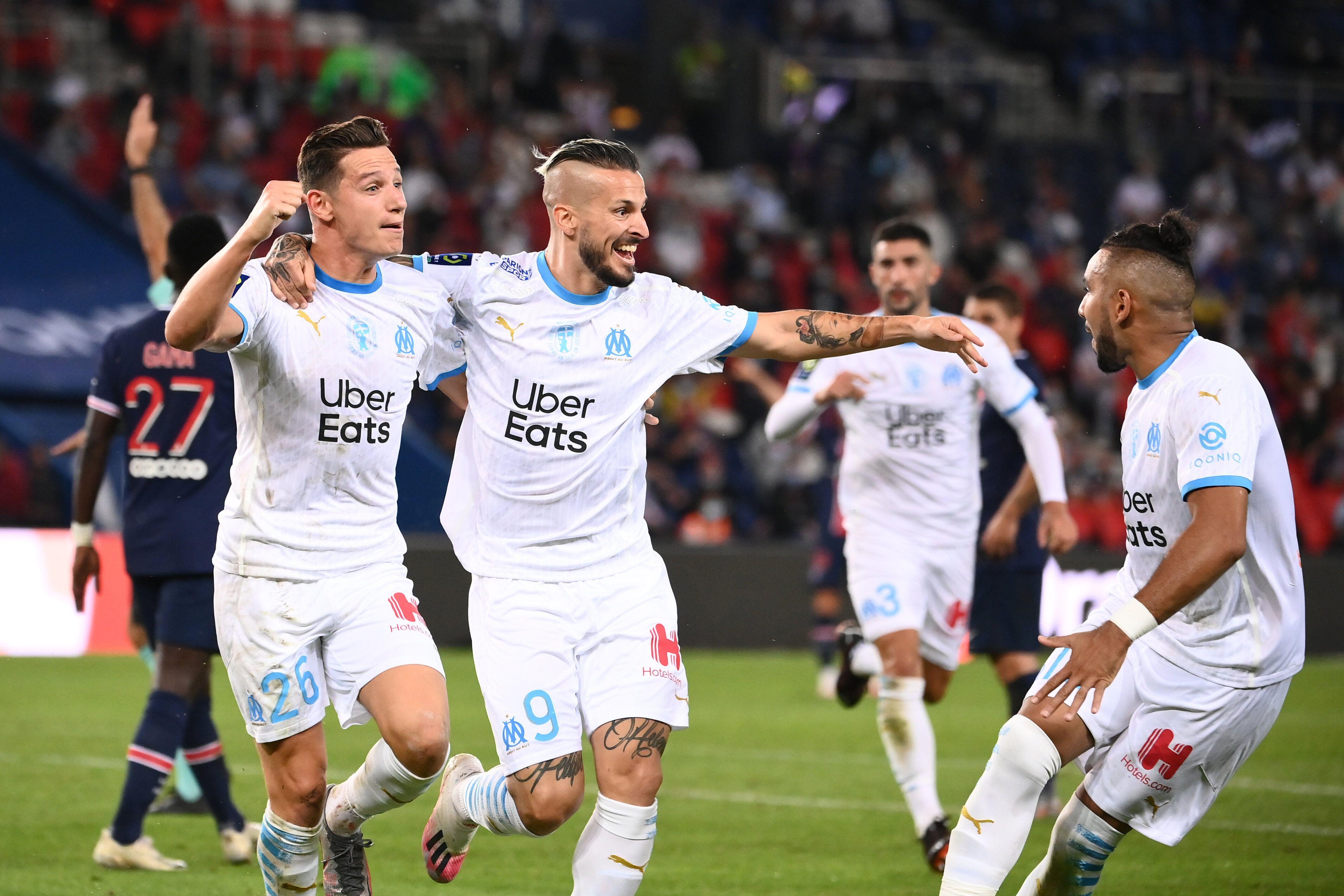 PSG/OM : le résumé et le but du match de Ligue 1 (Parc des Princes le 13 septembre, photo FRANCK FIFE...
