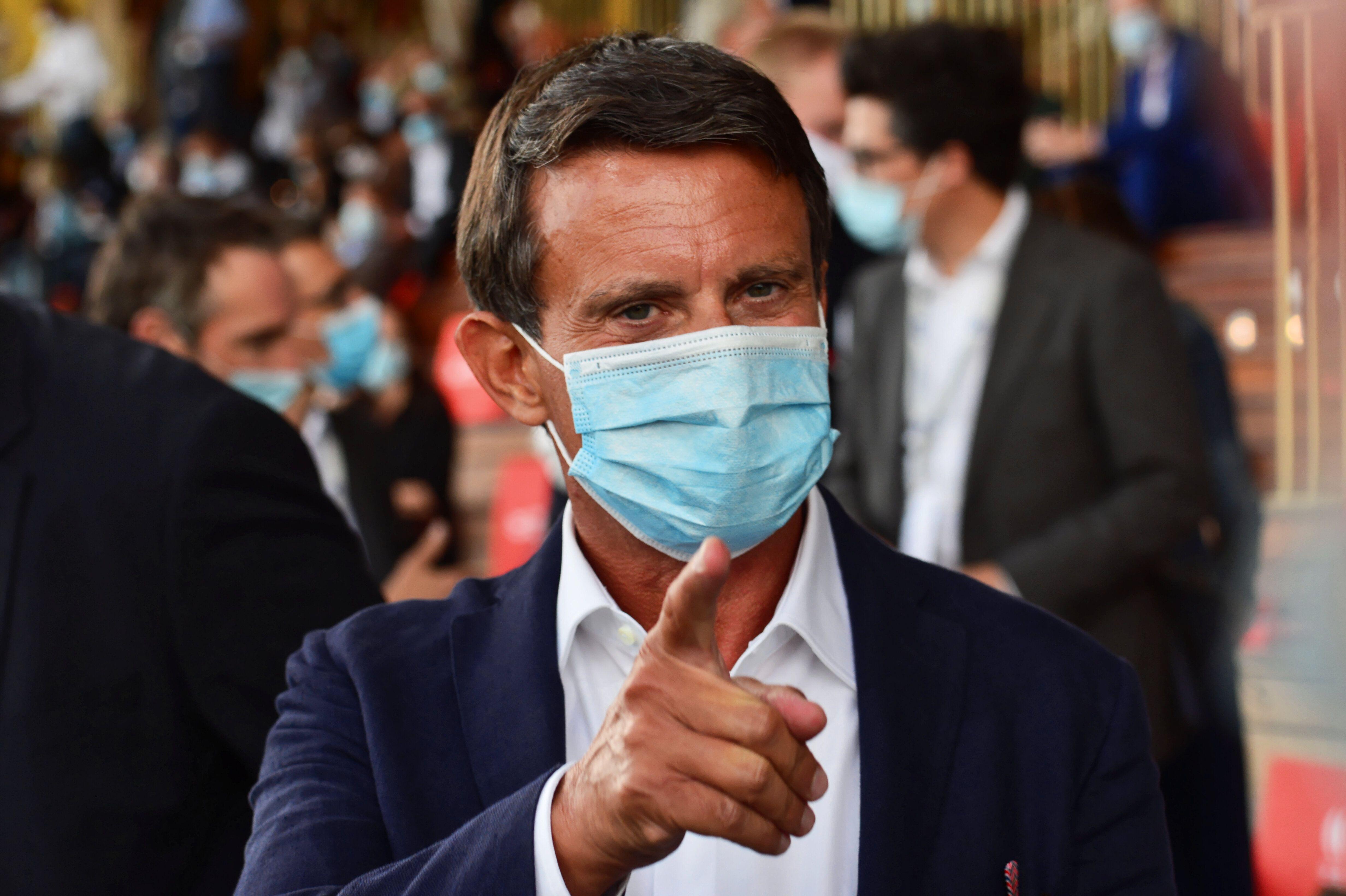 Manuel Valls, photographié ici fin août, s'est évidemment prononcé au sujet...