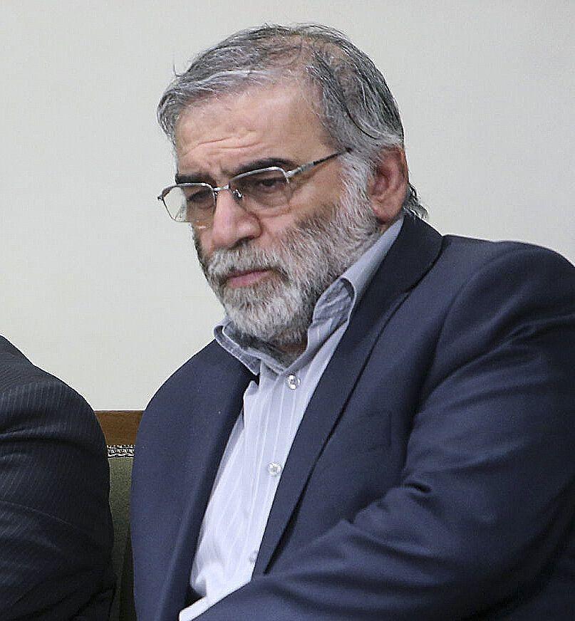Mohsen Fakhrizadeh, scientifique iranien qui travaillé notamment sur le programme nucléaire,...