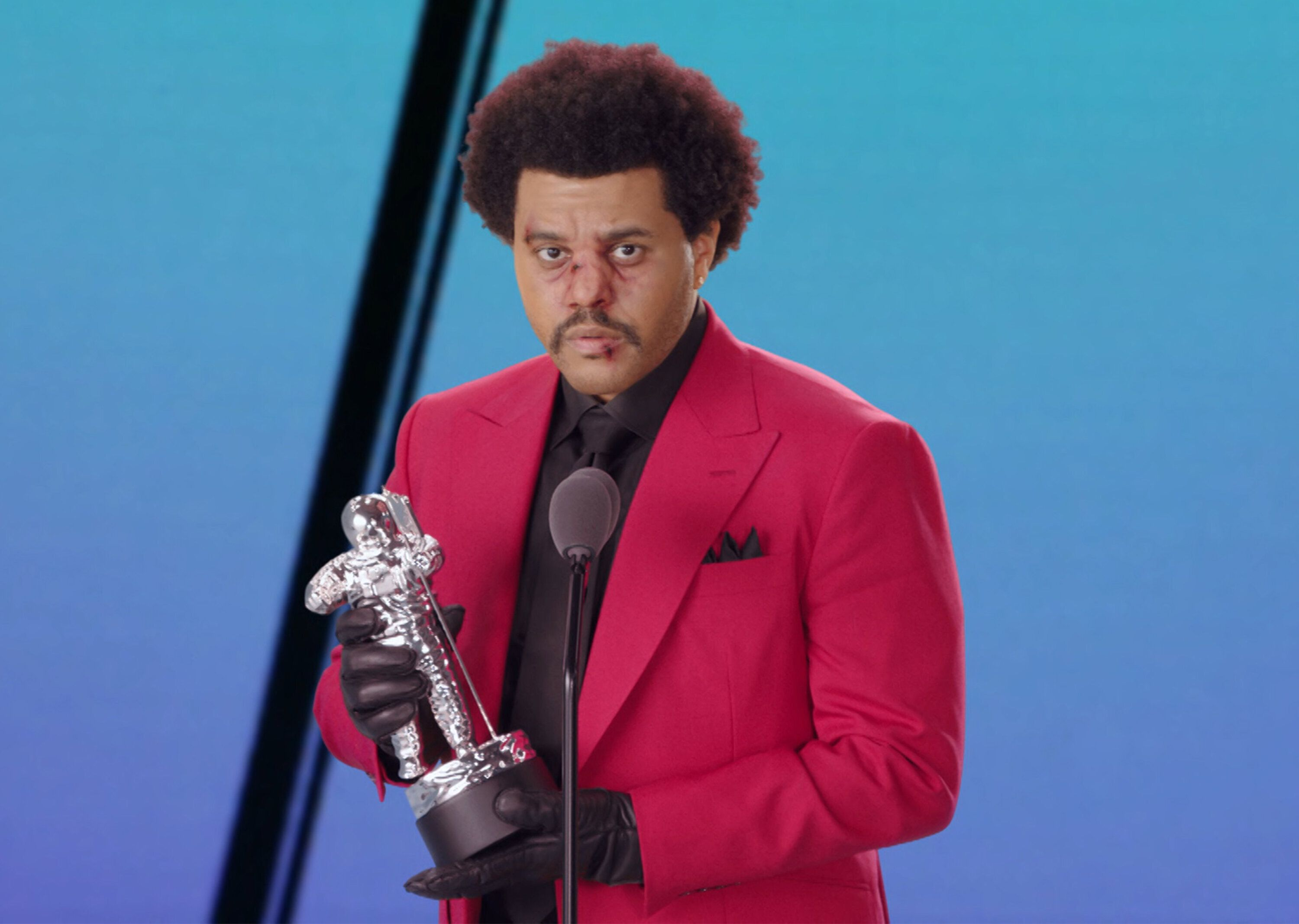 The Weeknd, ici lors des MTV Video Music Awards