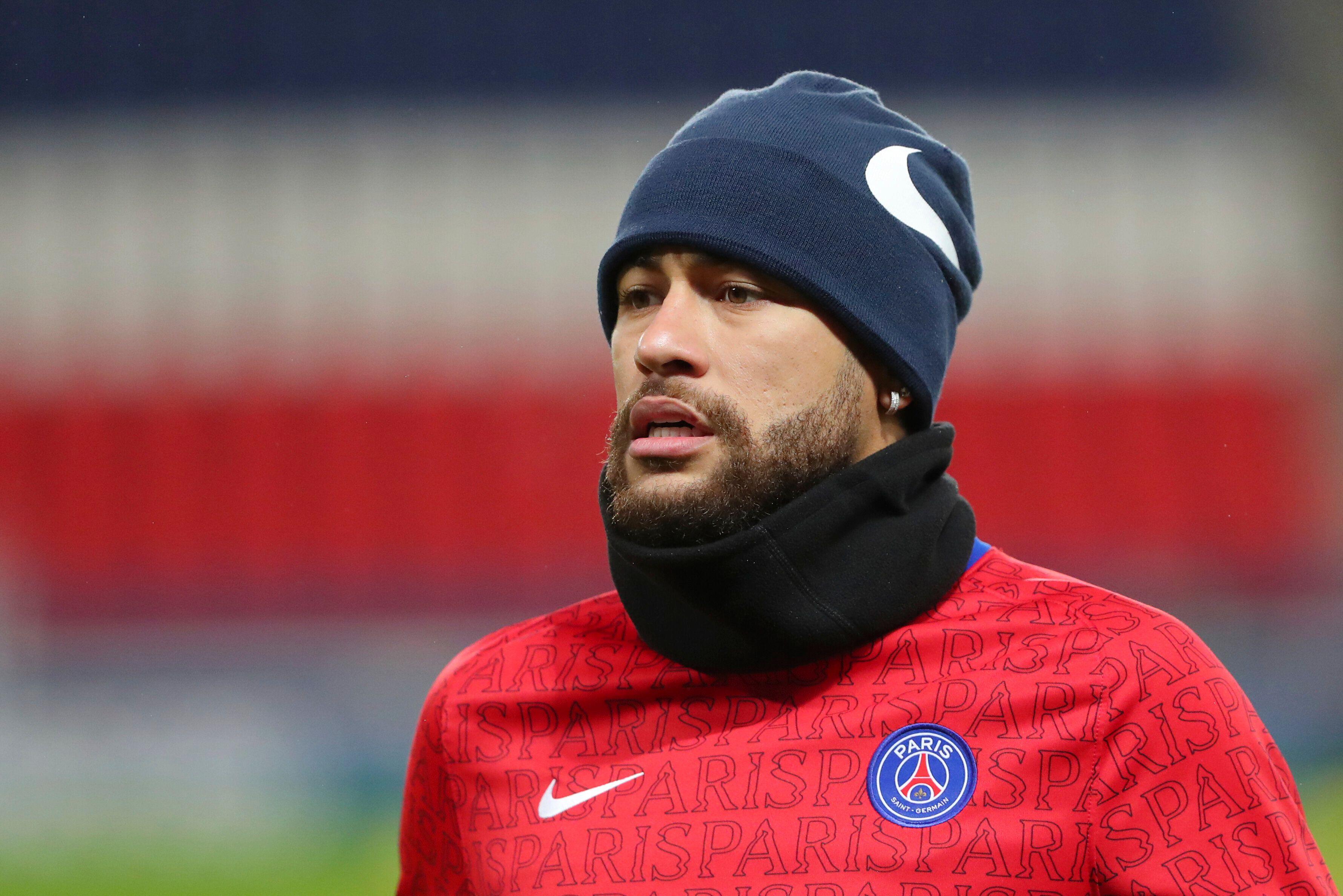 Photo de Neymar le 13 décembre 2020 (AP Photo/Thibault