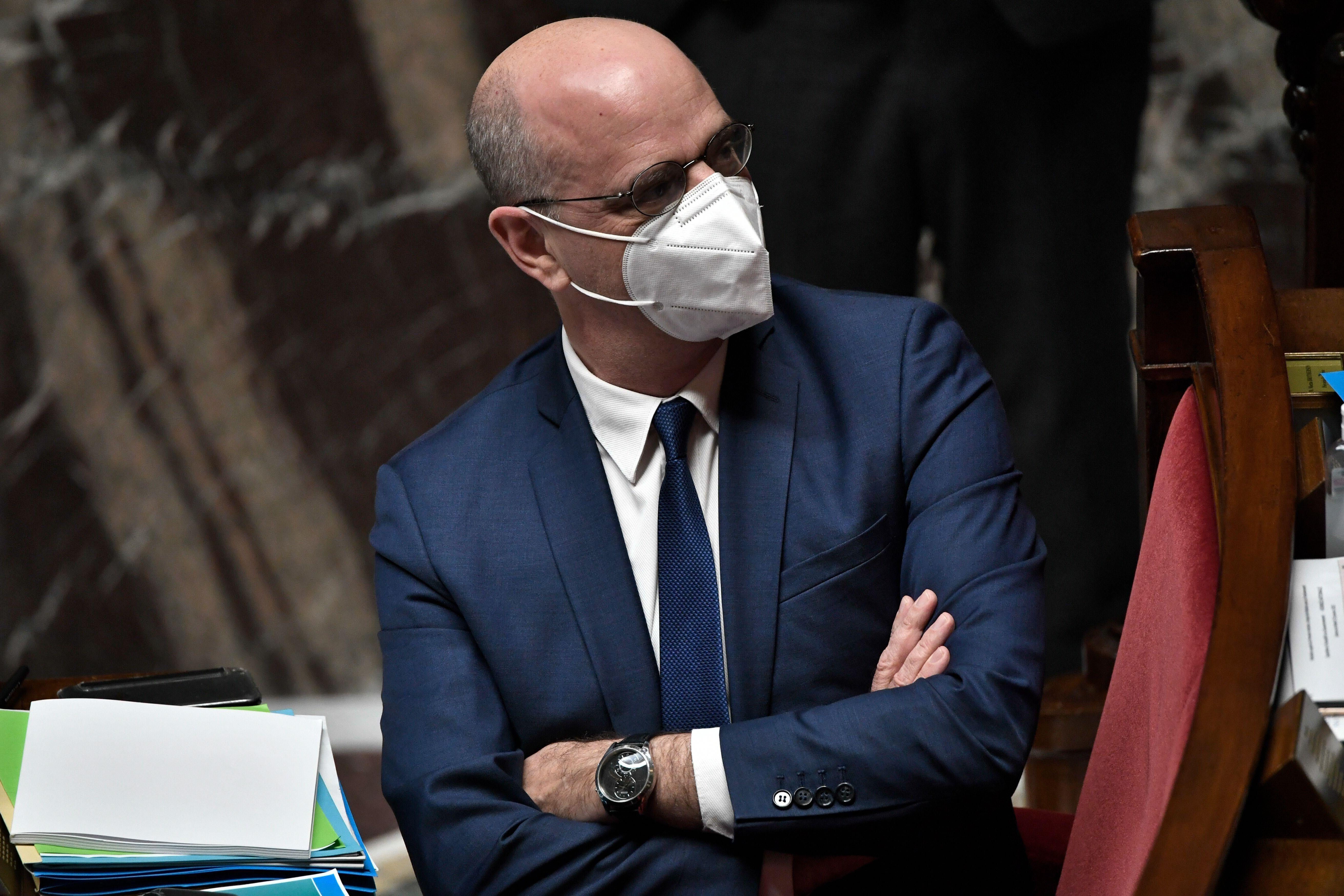 Jean-MIchel Blanquer, ici photographié le 19 janvier à Paris, a saisi l'inspection générale...
