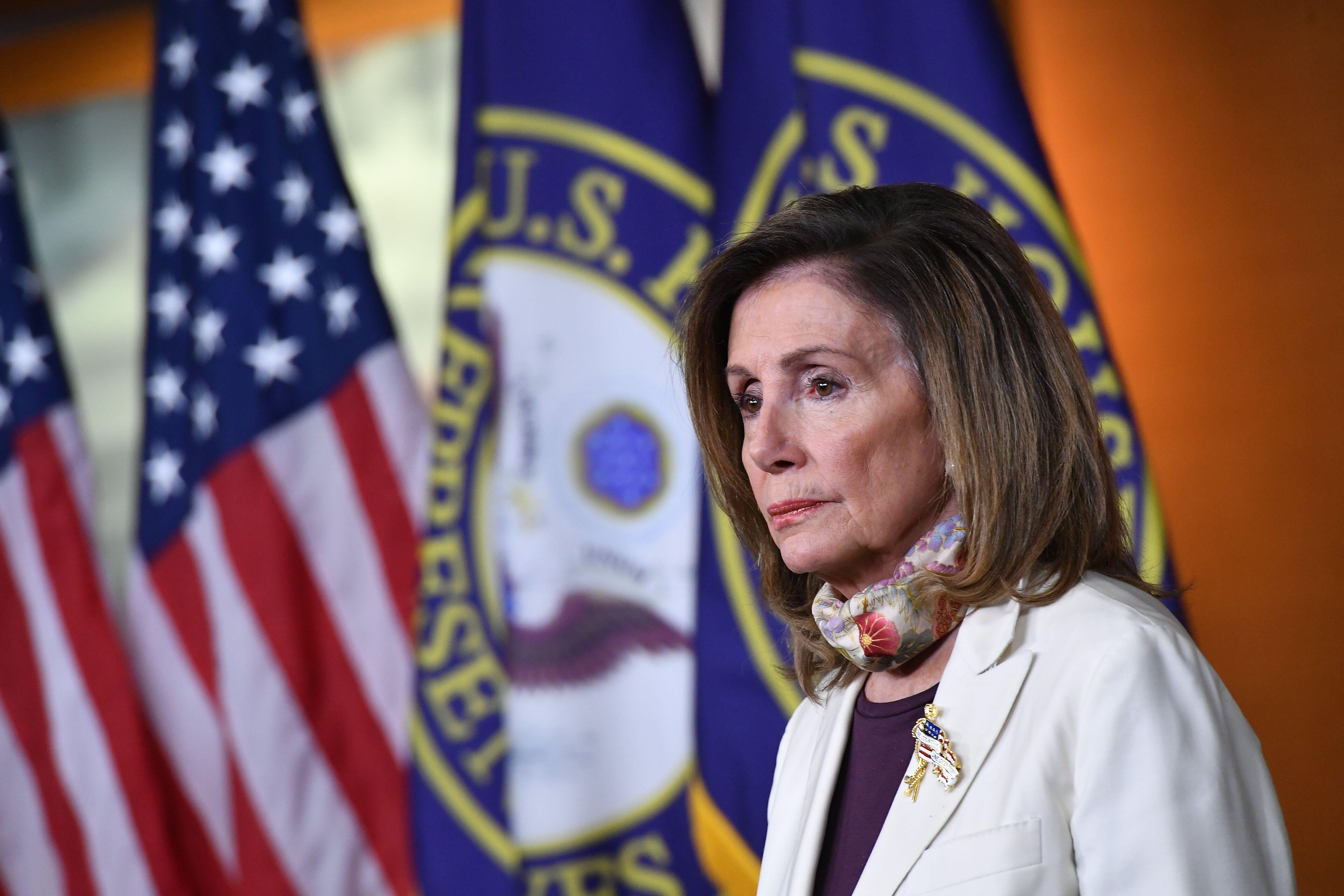 Nancy Pelosi, ici au Capitole à Washington, le 6 août
