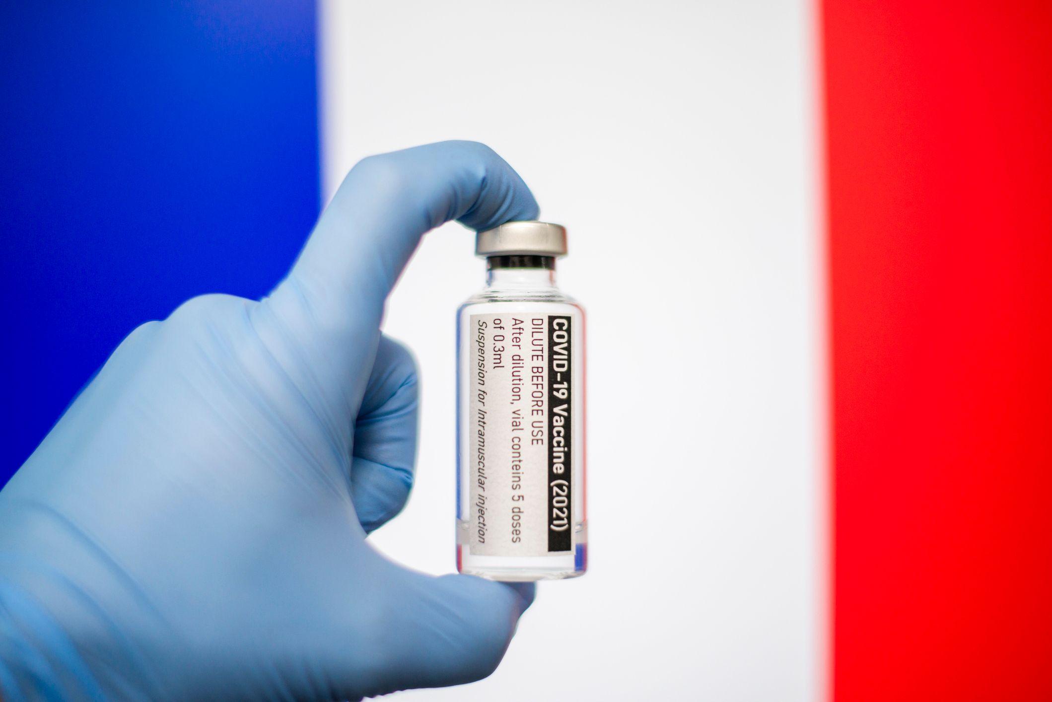 Une dose de vaccin contre le