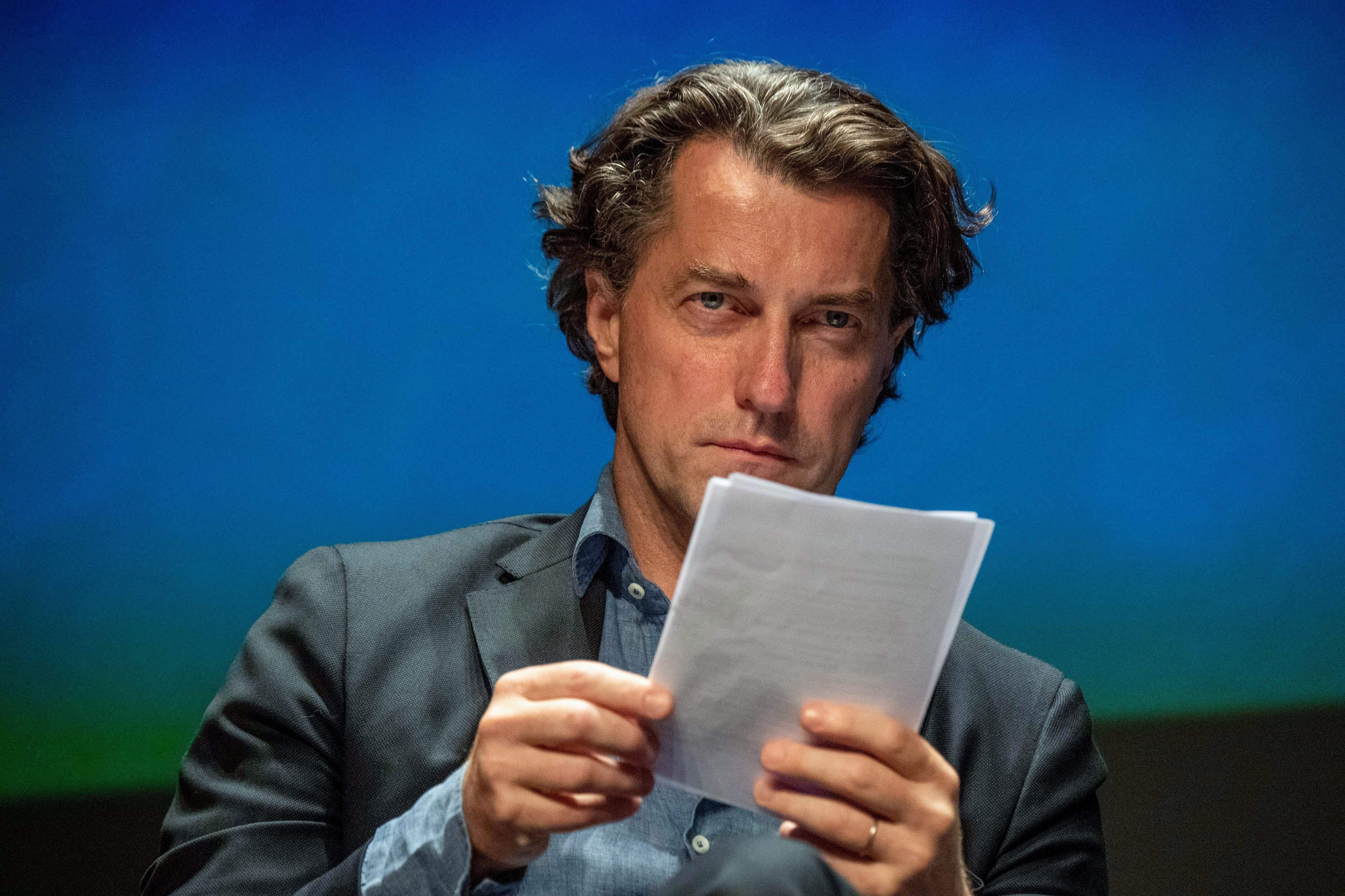 Dominique Boutonnat, ici photographié en septembre 2019 à La Rochelle, est le président...