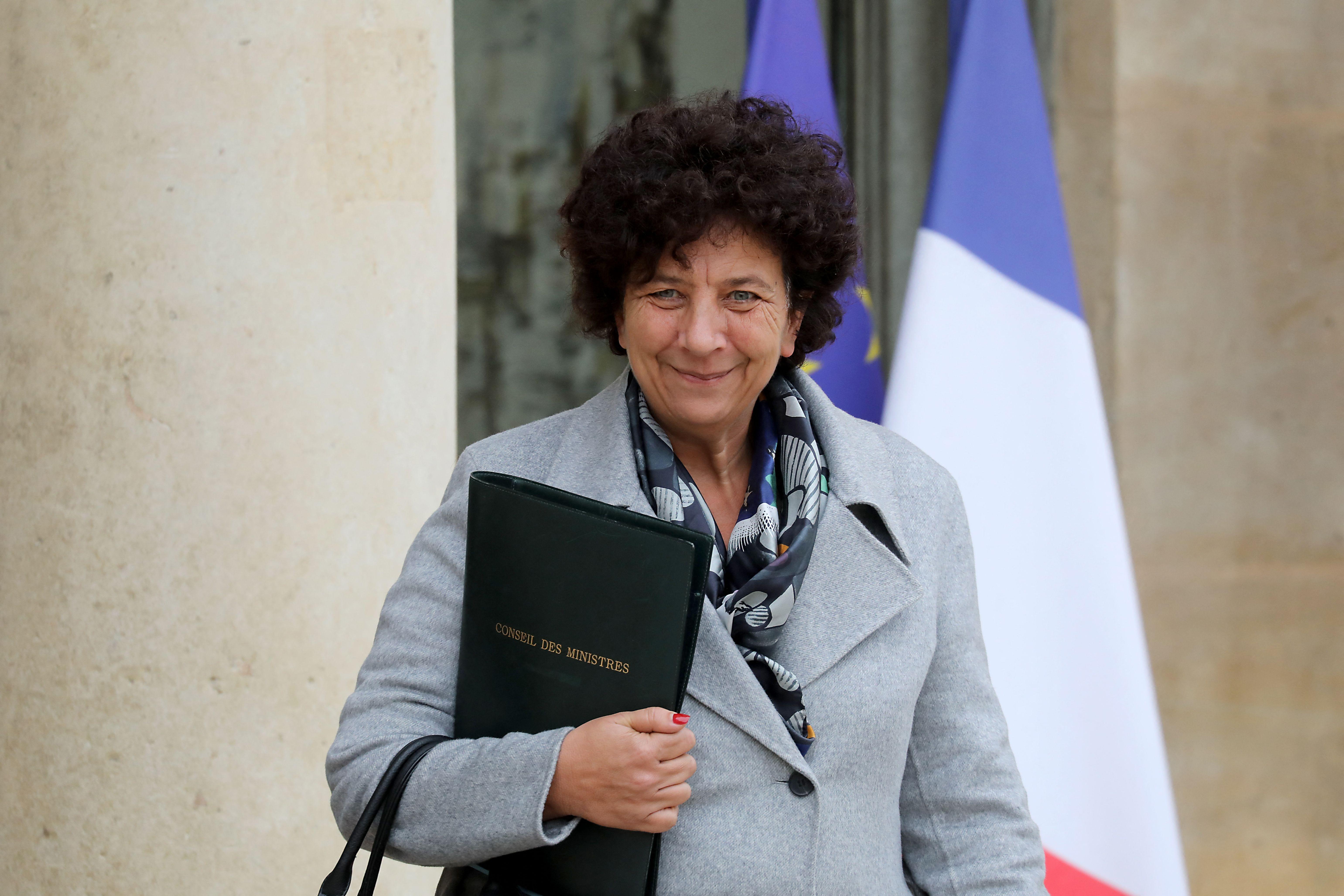 Frédérique Vidal, ici à l'Élysée en octobre