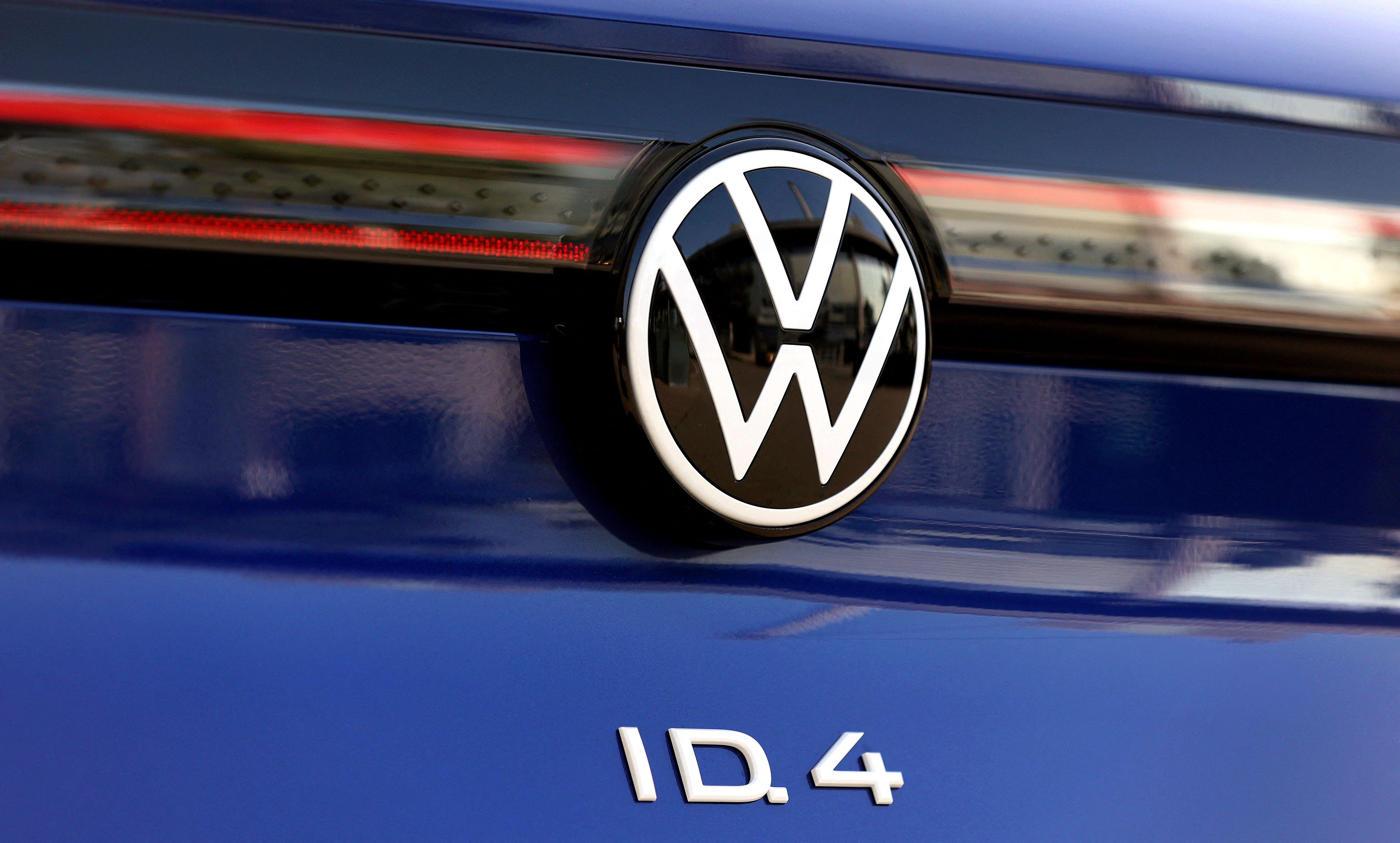 Une Volkswagen ID.4 SUV présentée à Wolfsburg, en Allemagne, le 26 mars