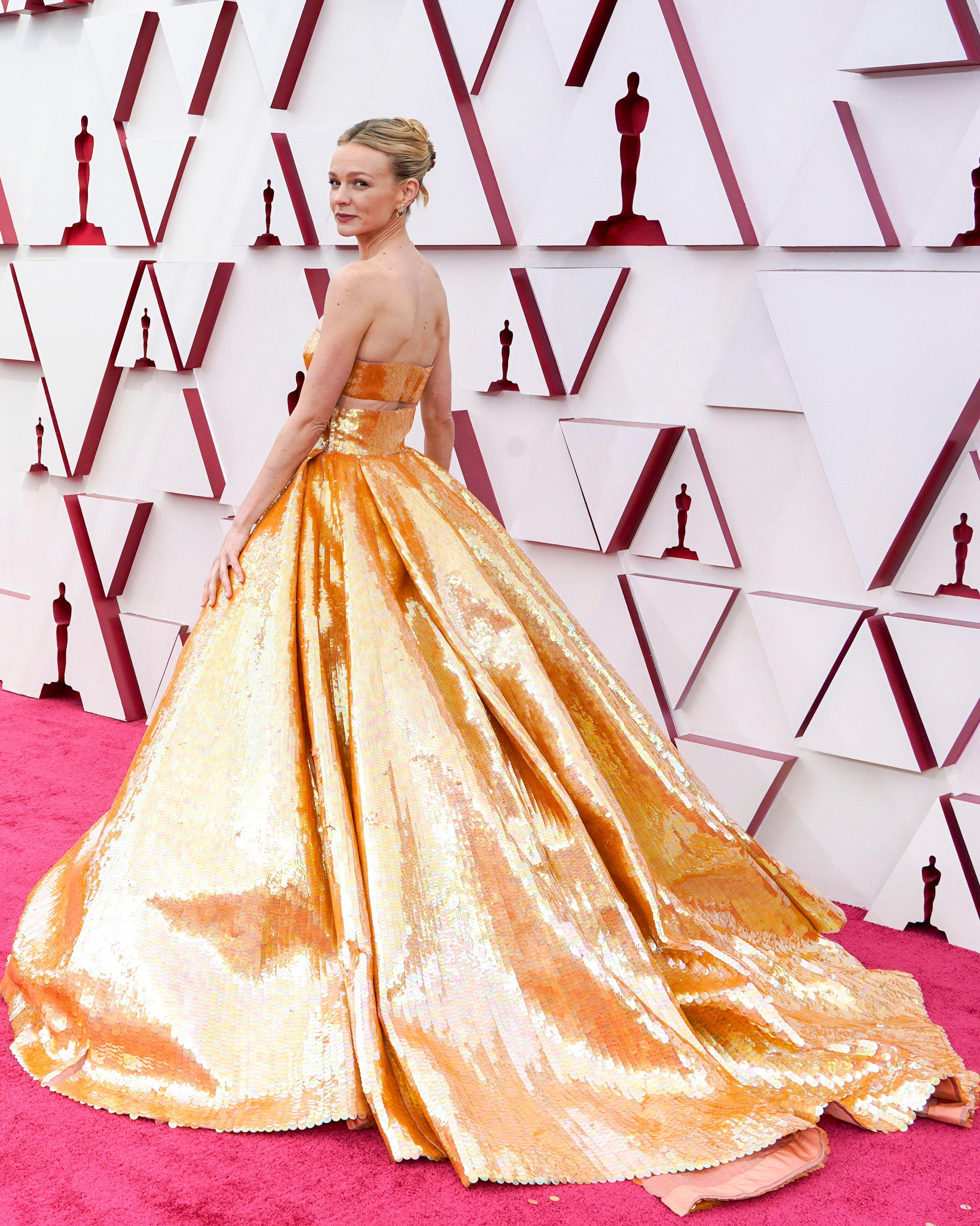 Carey Mulligan n'a pas reçu d'Oscar, mais sa robe a fait un