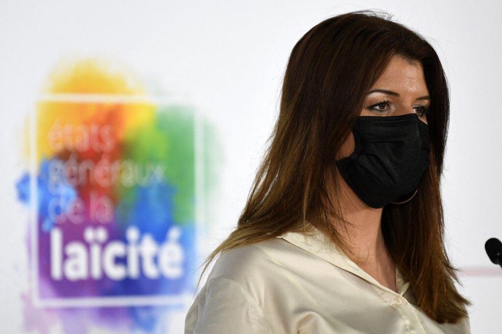 Marlène Schiappa lors de l'inauguration des États généraux de la laïcité,...