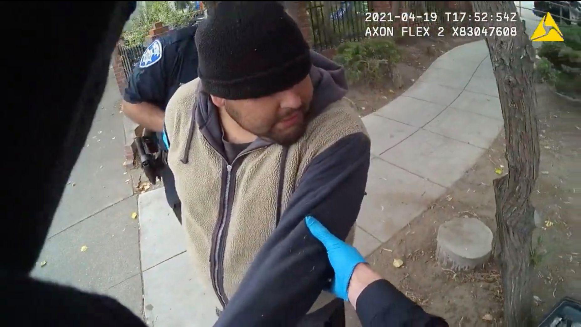 Le 19 avril dernier à Alameda, près de San Francisco, aux États-Unis, Mario Gonzalez...