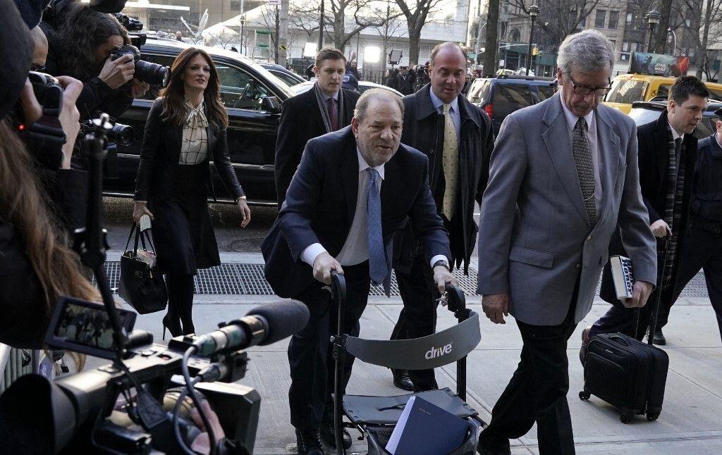 Harvey Weinstein fait appel de sa condamnation pour agressions sexuelles (photo du 24 février 2020, Manhattan,...