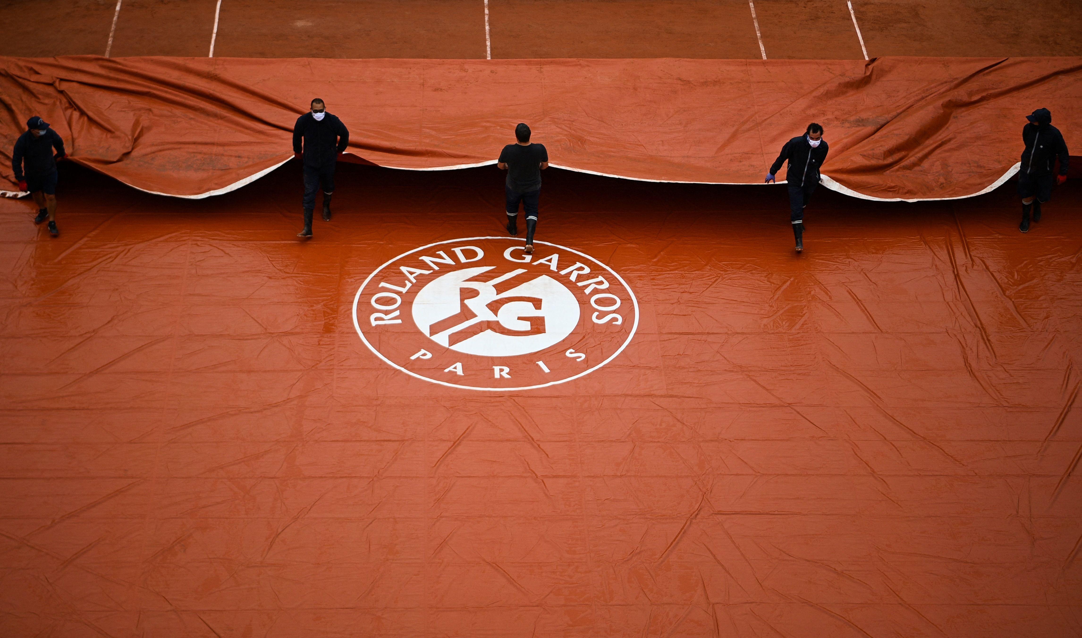 La date de Roland-Garros 2021 reportée d'une semaine face au Covid-19 (photo du 28 septembre