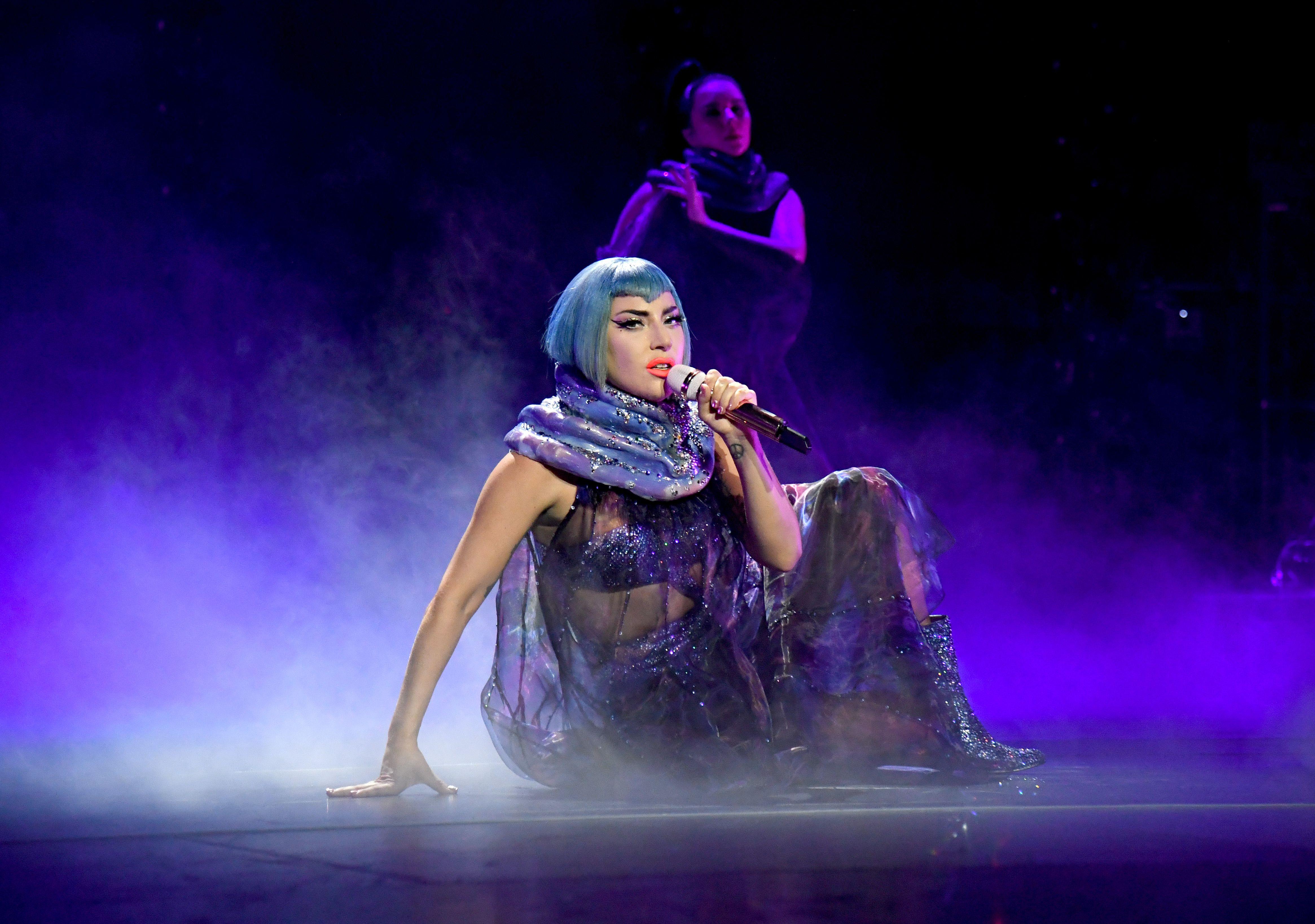 Lady Gaga, ici au mois de février 2020, était prête à payer 500.000 dollars...