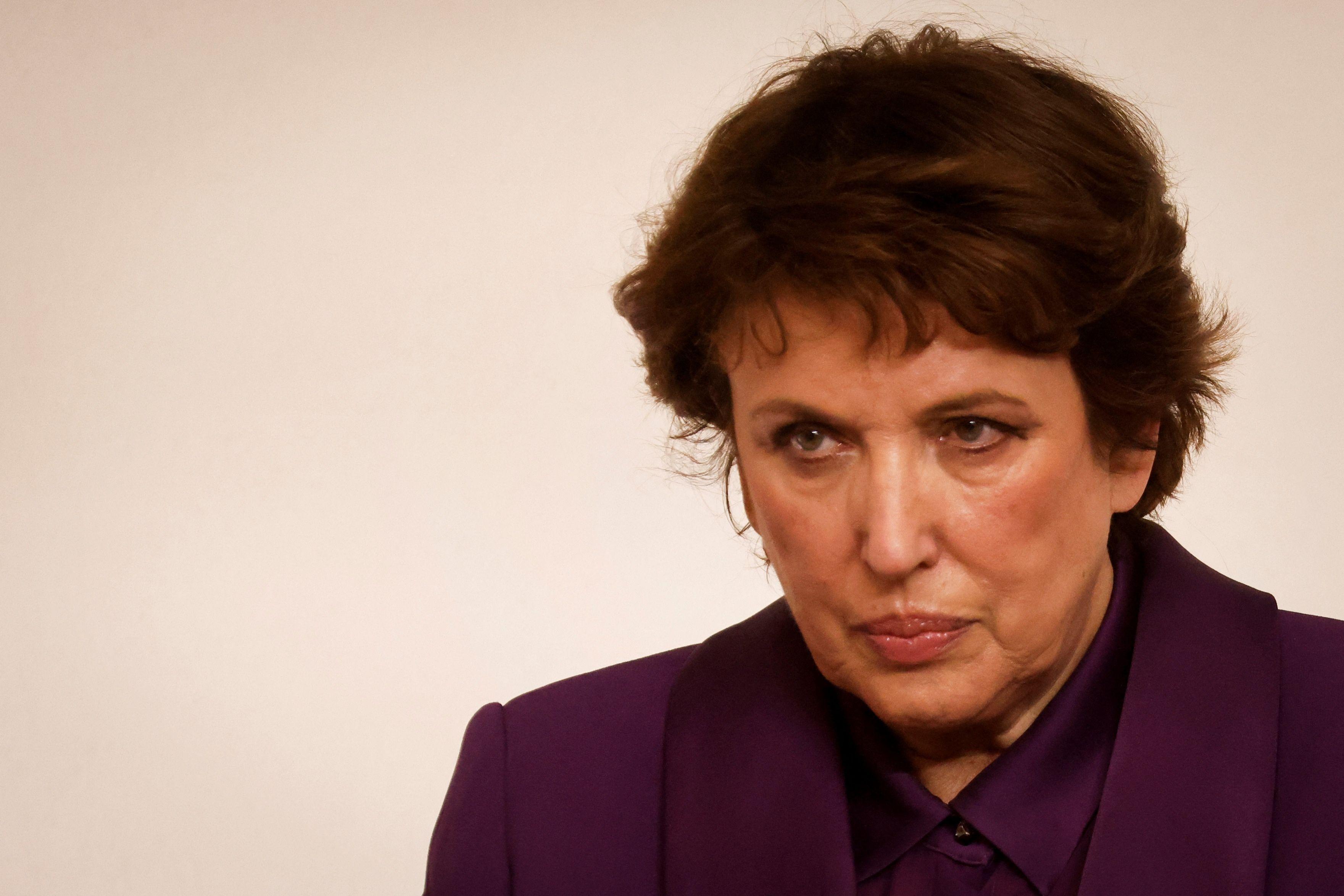 La ministre de la Culture, Roselyne Bachelot, revient sur sa son infection au Covid-19. (Ludovic MARIN...