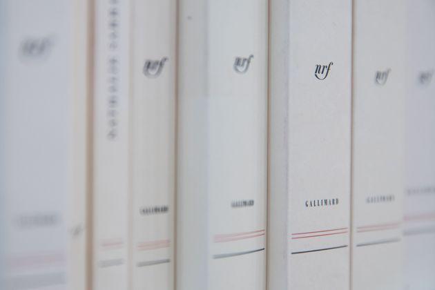 La collection Gallimard, lors du salon du livre de Paris en