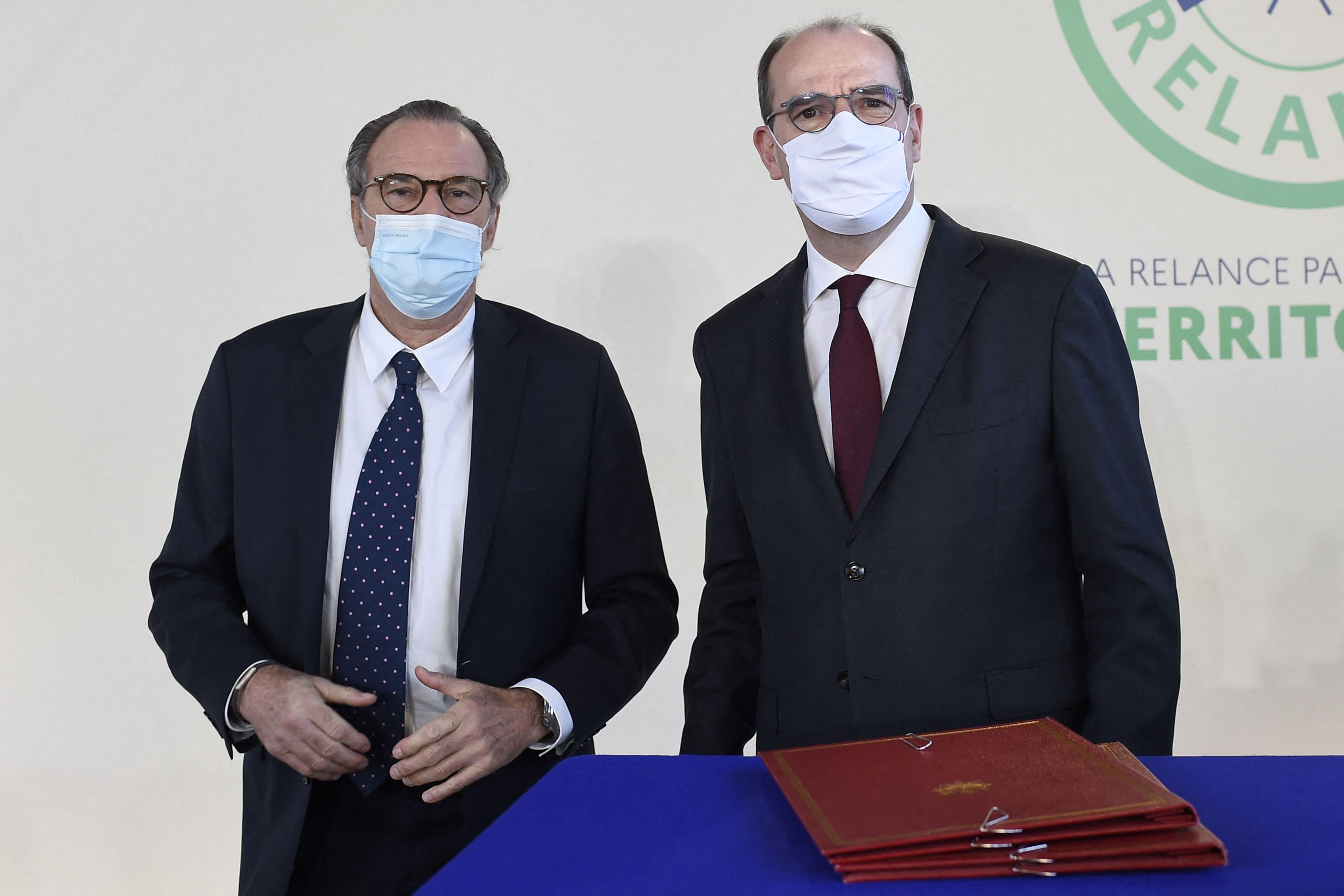Renaud Muselier et Jean Castex, ici à Toulon le 5 janvier