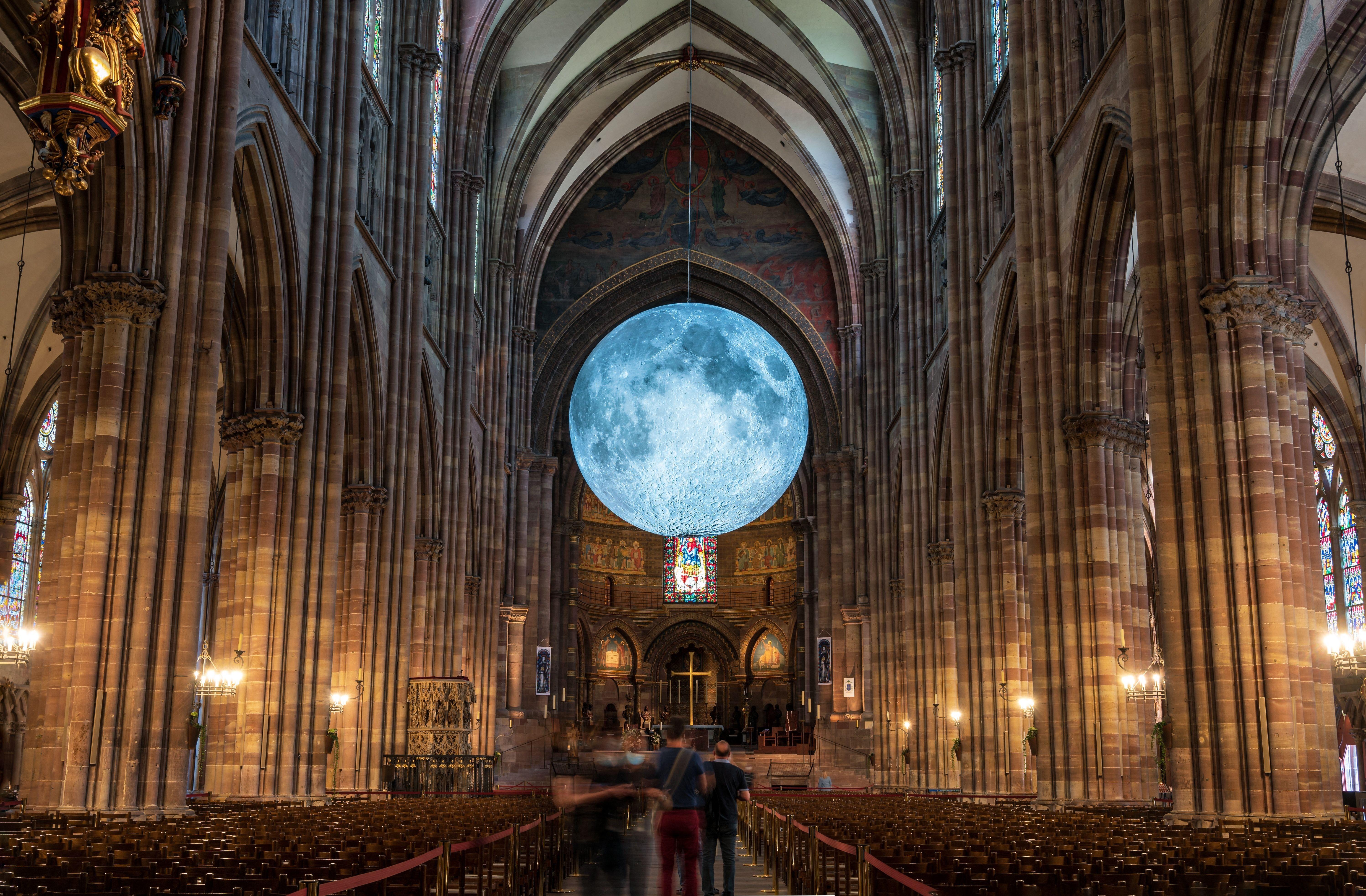 """""""The Museum of the Moon"""" est à observer du 3 au 13"""