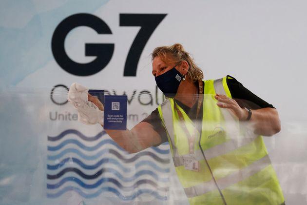 Le G7 s'ouvre en Angleterre