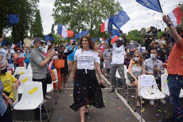 Marlène Schiappa a animé le meeting LREM de la campagne des régionales en