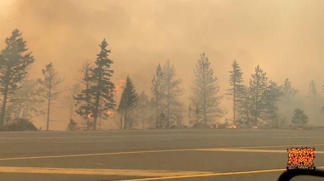 Le village de Lytton, au Canada, est parti en fumée dans de violents incendies en pleine canicule. (phoot...