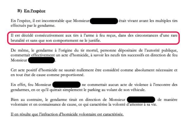 «Exclusif: Un gendarme visé par une plainte pour homicide volontaire»