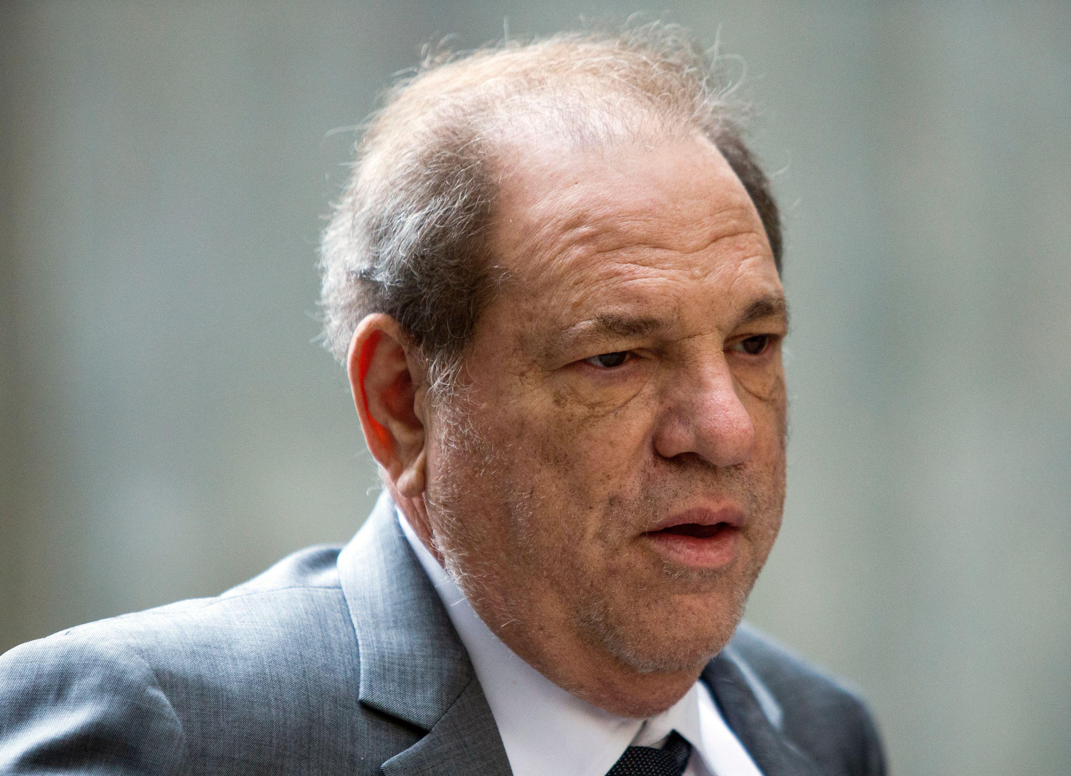 Harvey Weinstein, ici à New York aux États-Unis, le 6 décembre