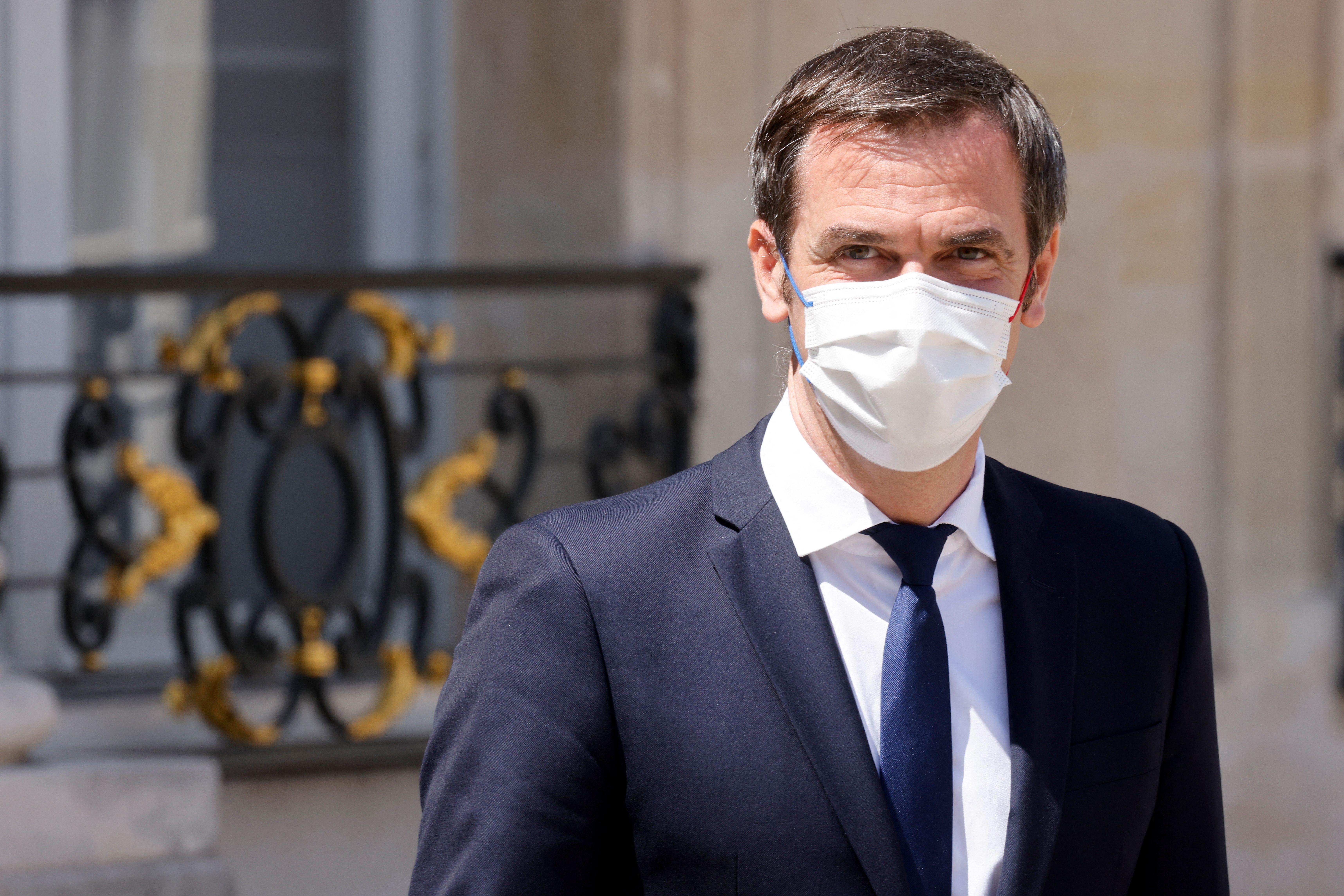 Le ministre de la Santé Olivier Véran, ici à Paris début juin