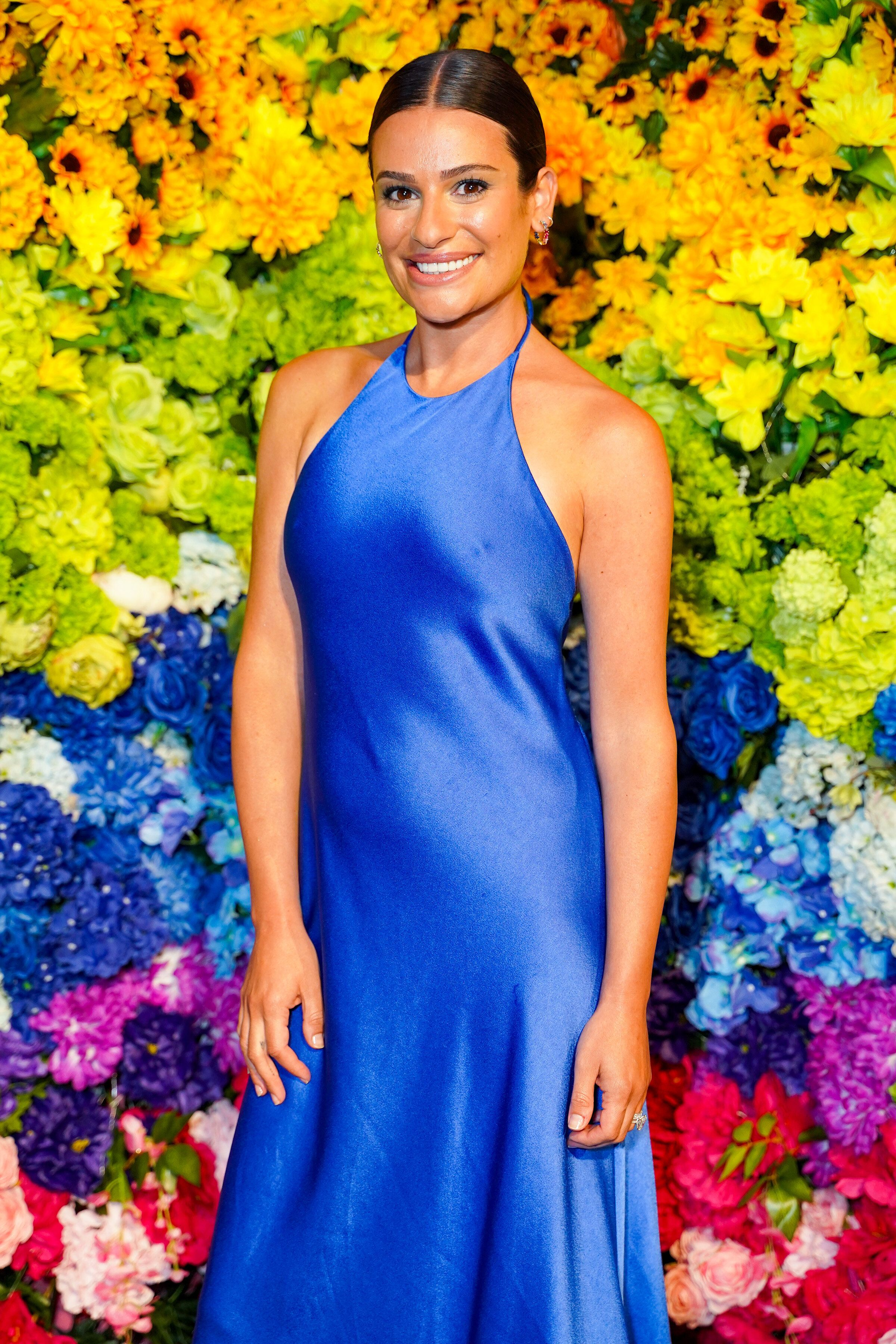 Lea Michele, ici au mois de juin