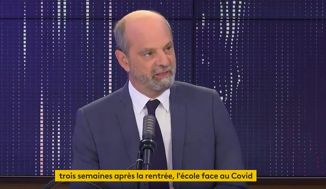Au micro de franceinfo, le ministre de l'Éducation Jean-Michel Blanquer a annoncé le début à venir d'une...