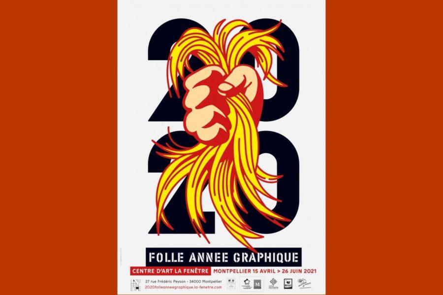 affiche expo 2020 année graphique