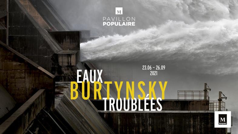 Affiche expo Eaux Troublées d'Edward Burtynsky