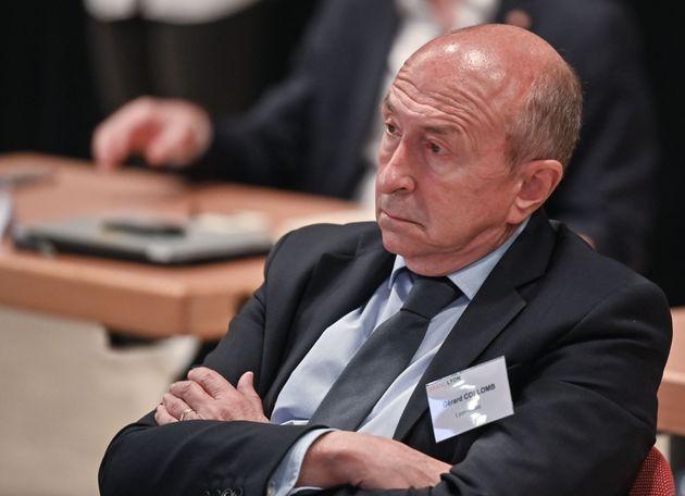 Gérard Collomb en juin 2020, lors d'un congrès