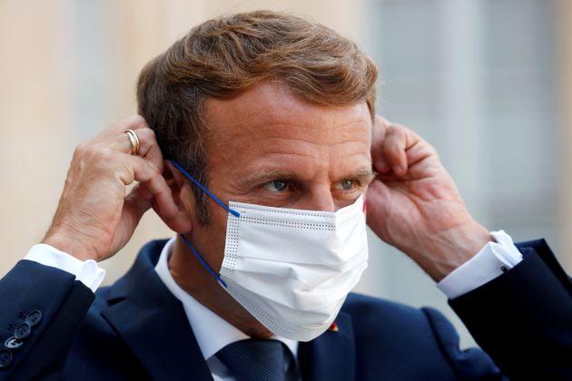 Emmanuel Macron, ici avant la réception du président chilien le 6 septembre à l'Elysée,...