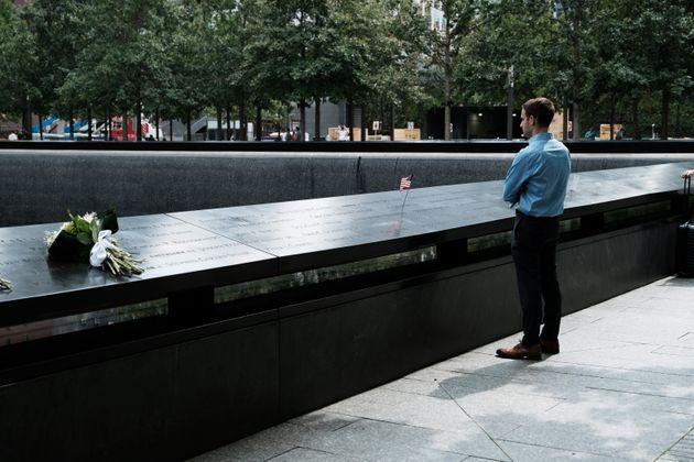 Mémorial du 11-Septembre, le 8 septembre 2021 à New York. La ville de New York et une grande...