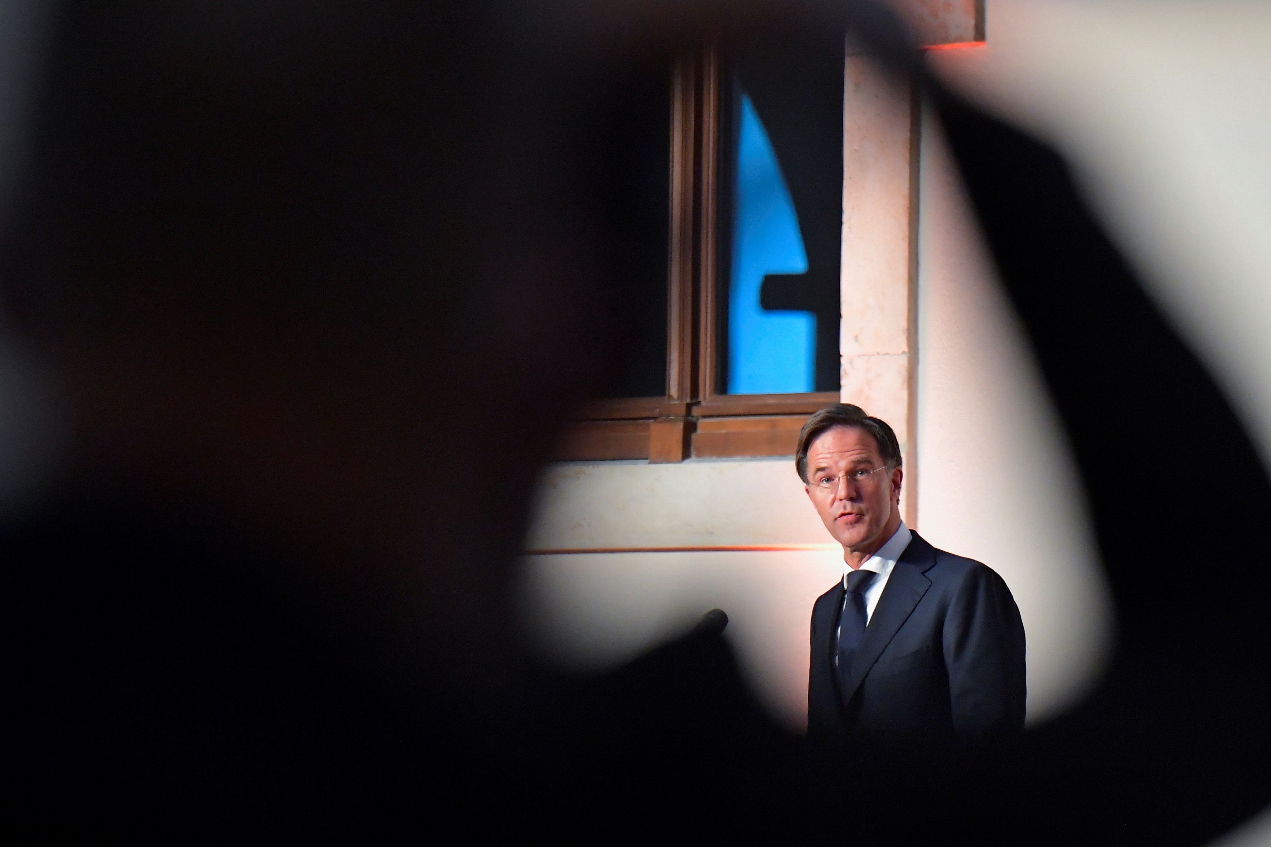 La protection autour du Premier ministre des Pays-Bas Mark Rutte a été augmentée après l'inquiétude de...