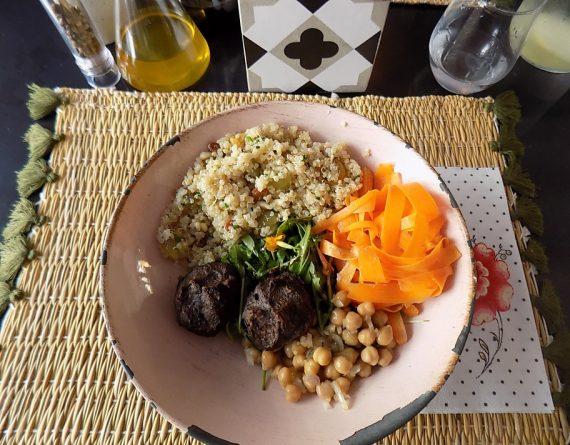 assiette déjeuner joy healthy food
