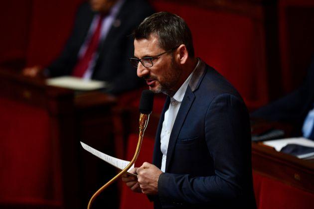 Matthieu Orphelin en mai 2020 à l'Assemblée nationale