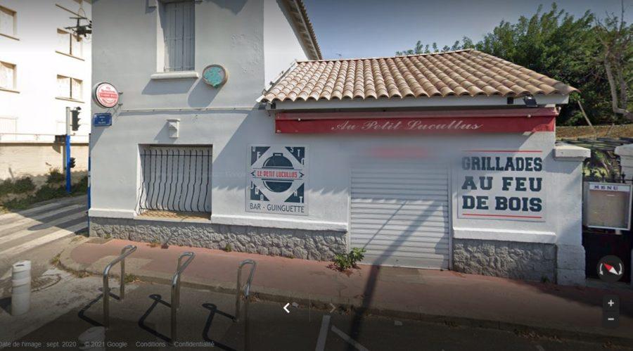 devanture Le Petit Lucullus BAR - GUINGUETTE GRILLADES AU FEU DE BOIS