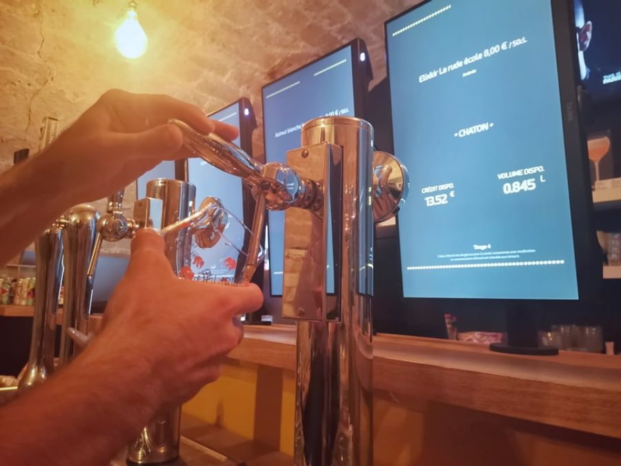 bar biere ecusson