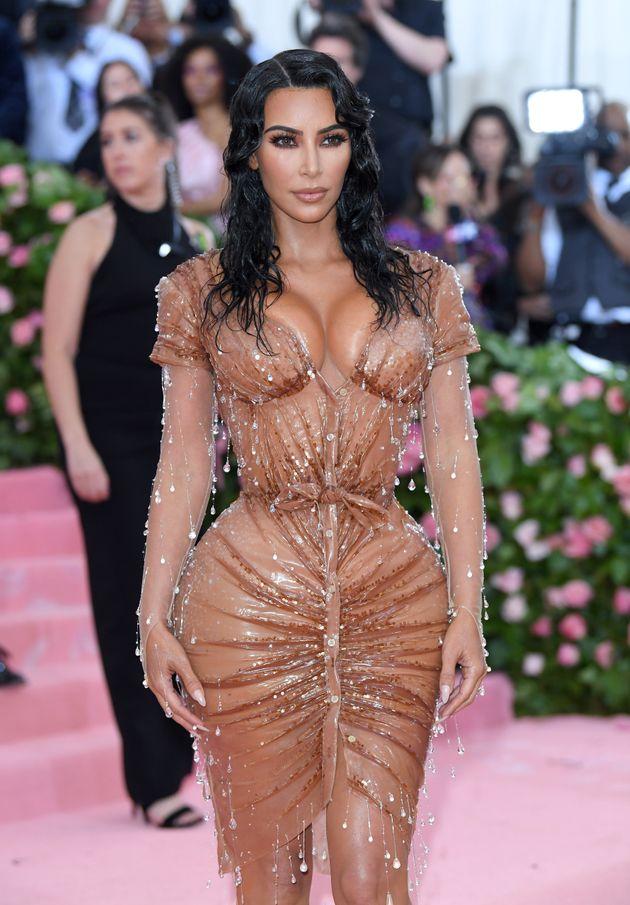 Kim Kardashian, au gala du Met, en