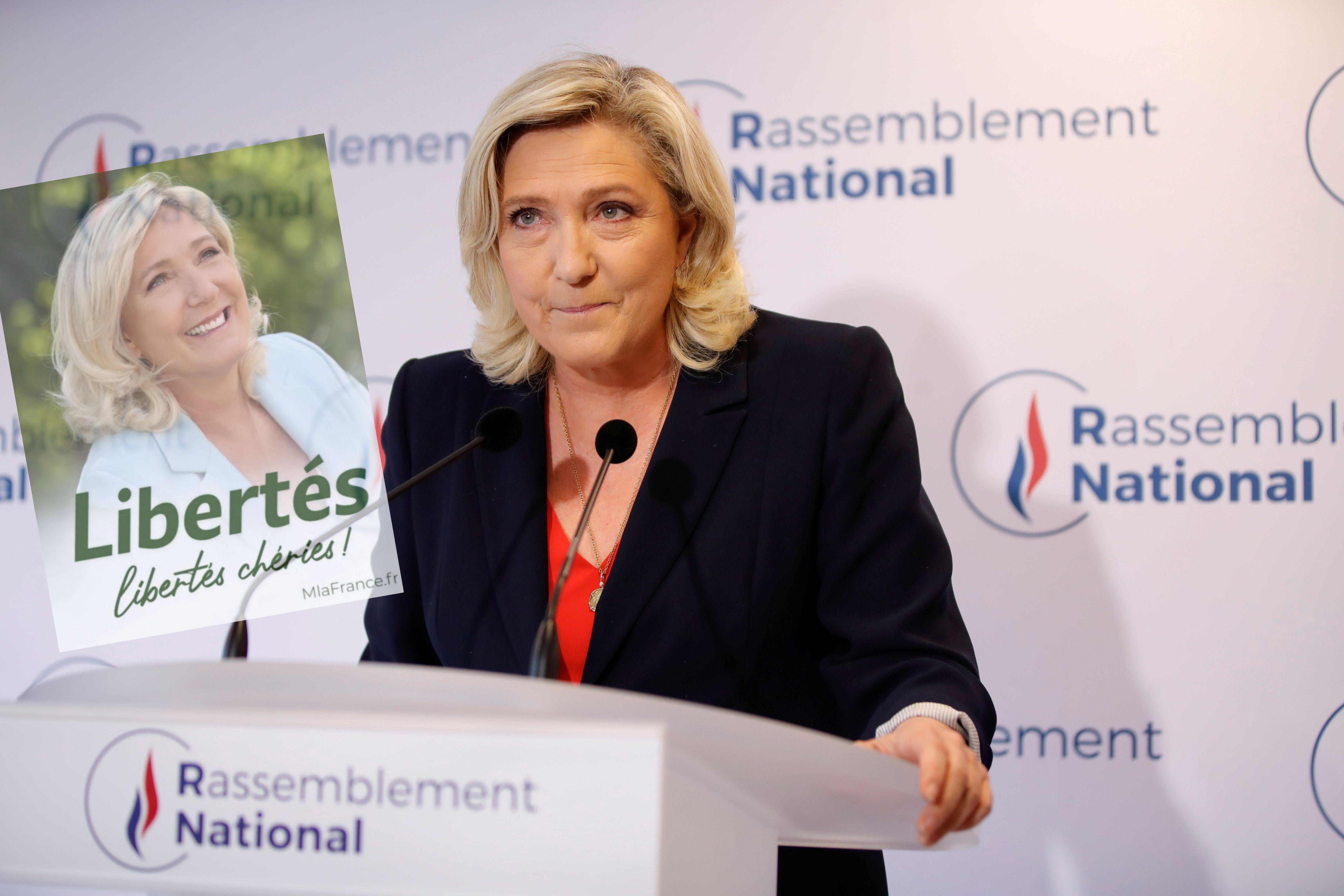 Marine Le Pen photographiée le 27 juin 2021, après les élections régionales